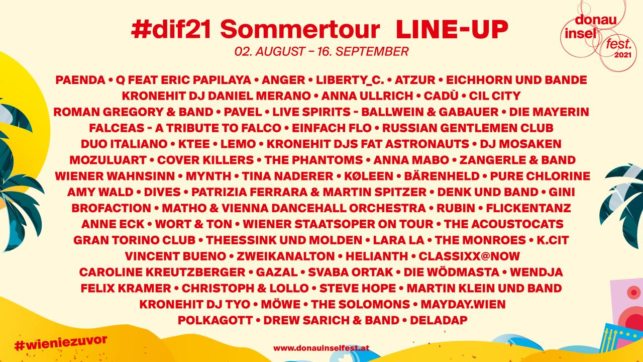 #dif21 Sommertour von 2. August bis 16. September 2021